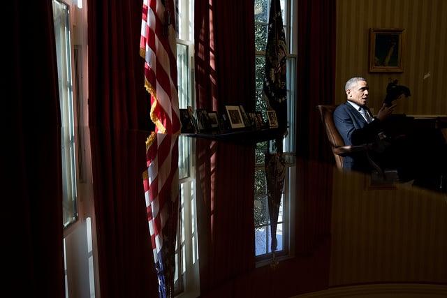 President Obama in April 2013. © U.S. Gov't Work