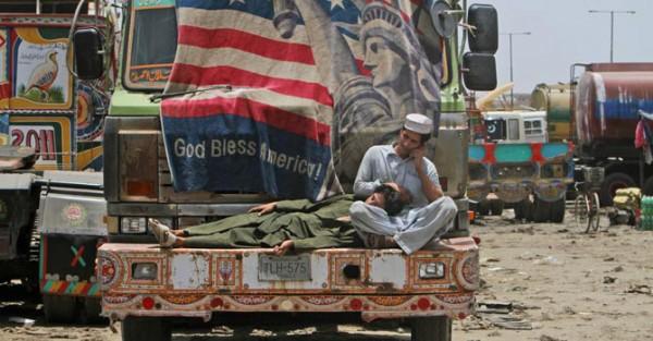 pakistani truckers