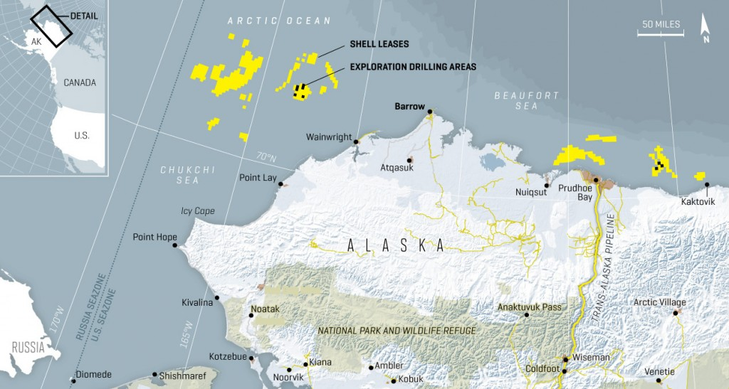 Shell Posed to Begin Drilling This Summer in Beaufort and Chukchi Seas