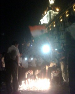 Remembering 26/11: Outside the Taj Mumbai: Courtesy Bhavik Vasa