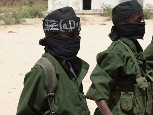 Children at an Al-Shabab training camp in the Afgooye Corridor, west of Mogadishu, southern Somalia, in February 2011 (Source: Human Rights Watch)
