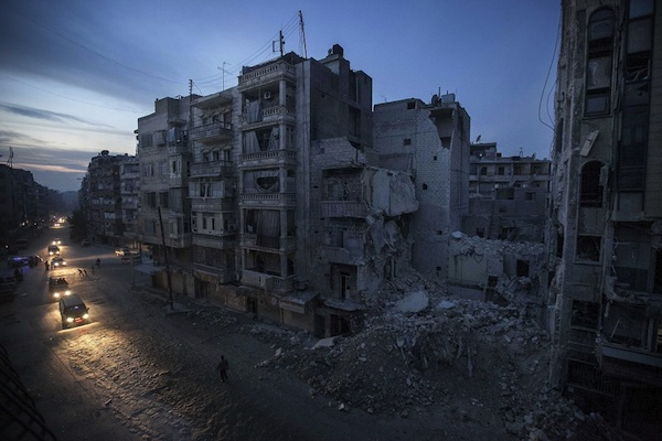 Destruction in Syria, November 2012. Source: Washington Post/AP/Narciso Contreras