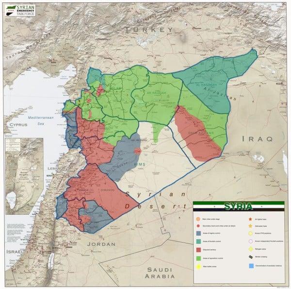 Territorial Control Map