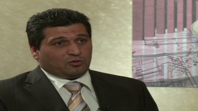 Rafid Ahmed Alwan, known by the codename Curveball, invented a story about Iraqi chemical weapons labs. (Photo: cnn.com)