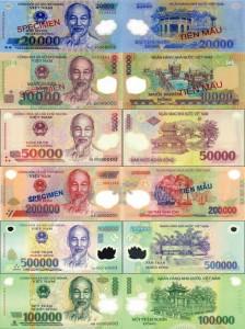 Vietnamese Dong Bills