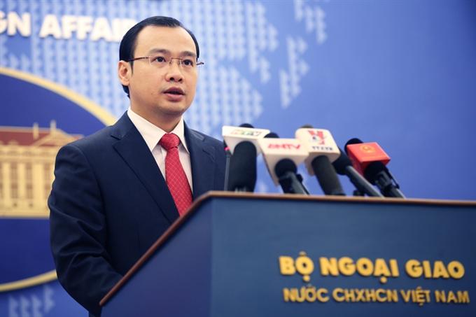 Foreign Ministry's Spokesman Lê Hải Bình (Vietnam Breaking News)